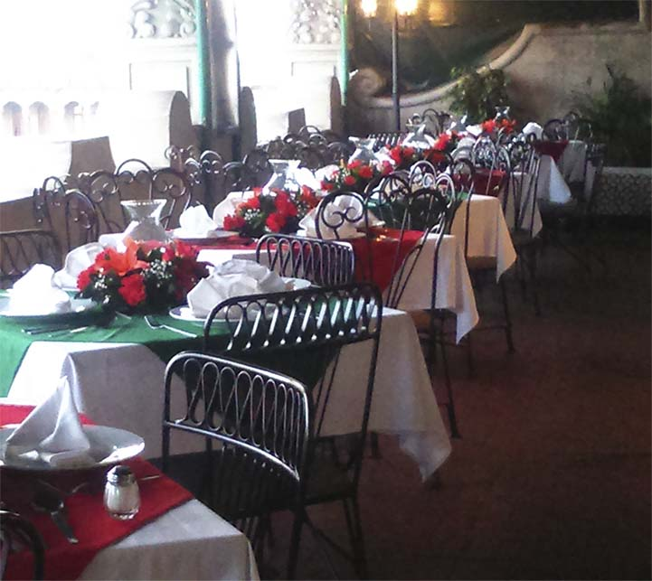 Hotel Majestic, Christmas Dinner