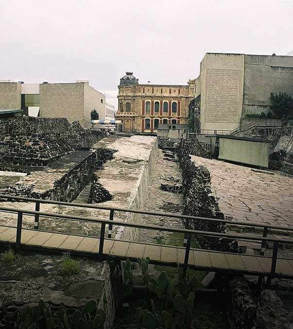 Hotel Majestic, Templo Mayor