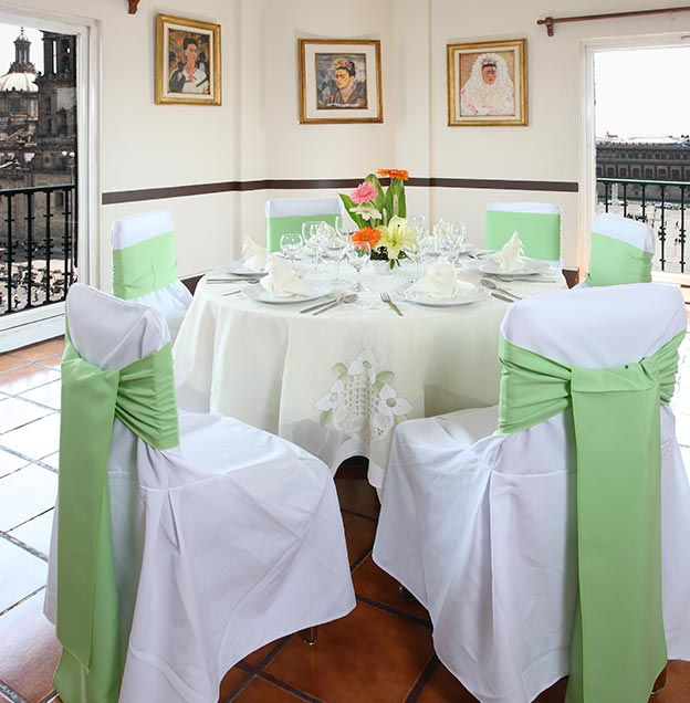 Hotel Majestic, Salón privado