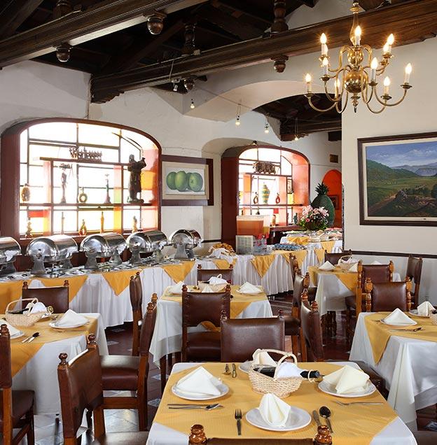 Hotel Majestic, Restaurante