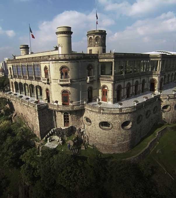 Hotel Majestic, Castillo del Bosque de Chapultepec